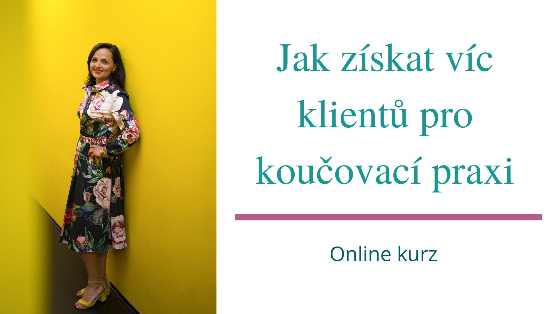 Online kurz pro kouče a Lektor